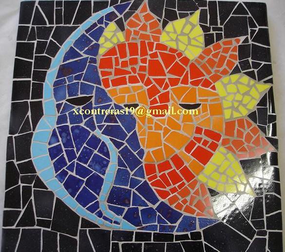 Mosaico cursos talleres taller recre arte for El mural de mosaicos